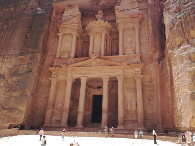Al-Khazneh treasury Petra